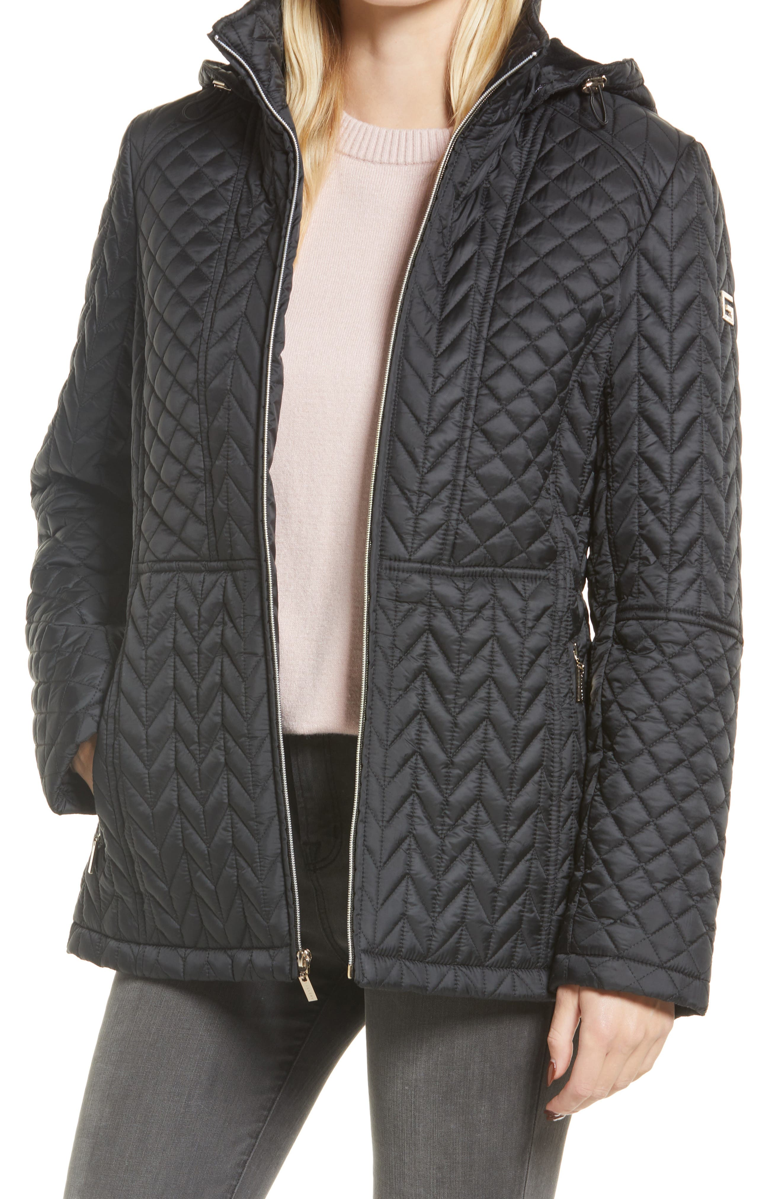 Women's Hooded Quilted Jacket