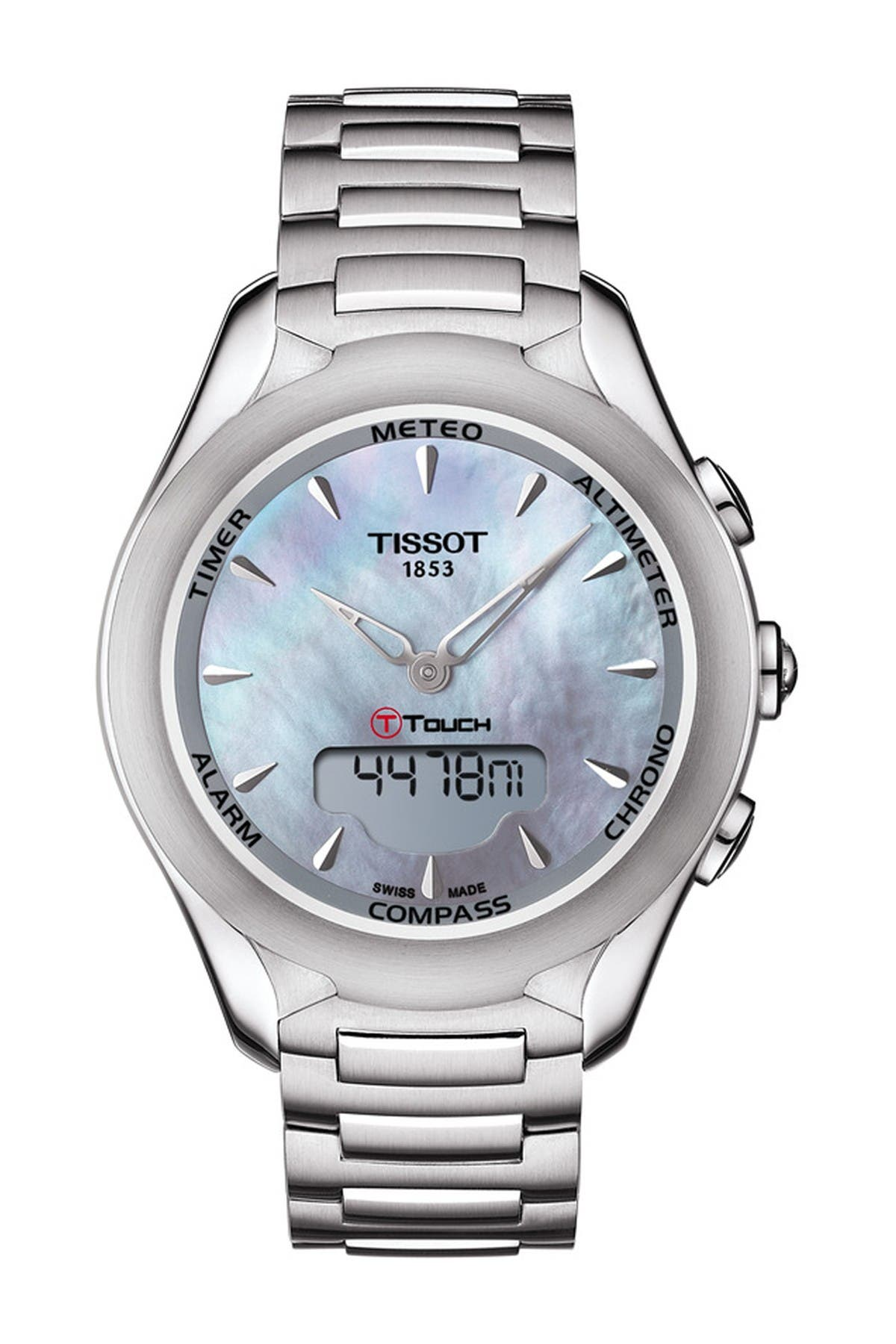 Image of Tissot Women's T-Touch Lady Solar Watch, 38mm