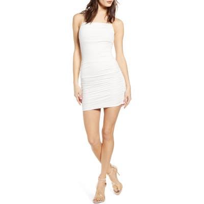 Tiger Mist Reese Body-Con Minidress, White