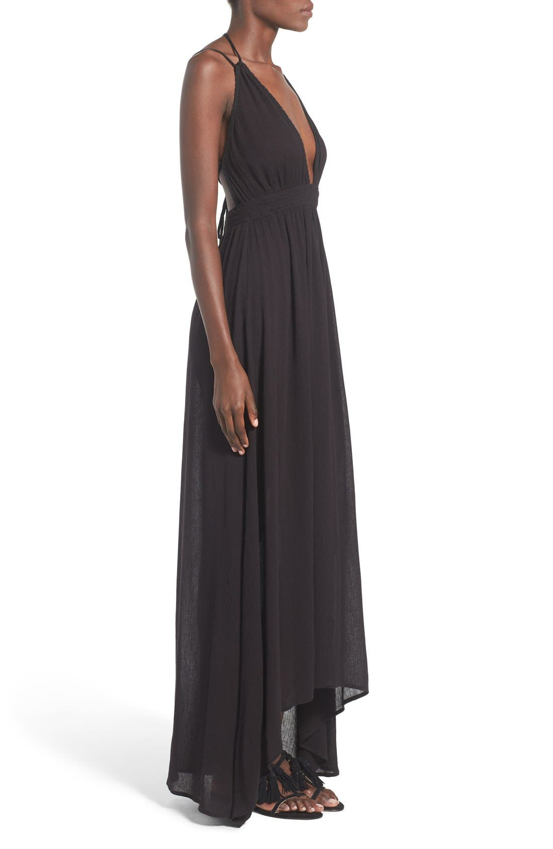 ,                             ASTR 'Belen' Maxi Dress,                             Alternate thumbnail 5, color,                             001