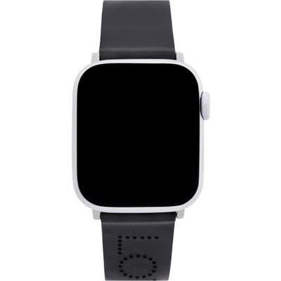 Rebecca Minkoff Love Detail Leather Apple Watch Strap