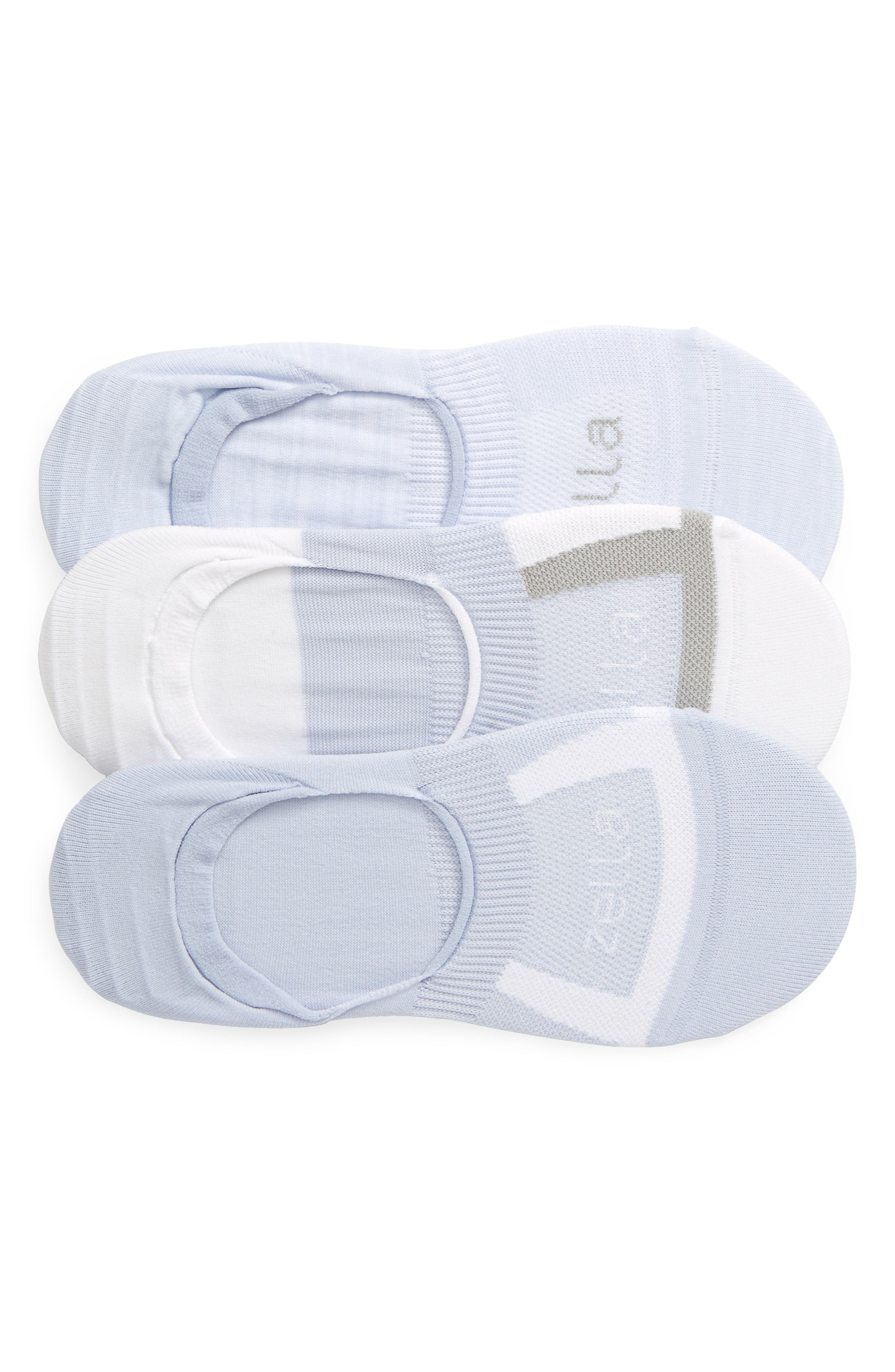 Zella 3-Pack No-Show Socks