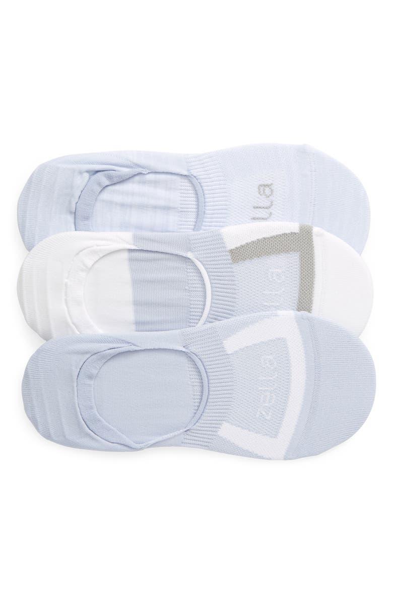 ZELLA 3-Pack No-Show Socks, Main, color, BLUE XENON