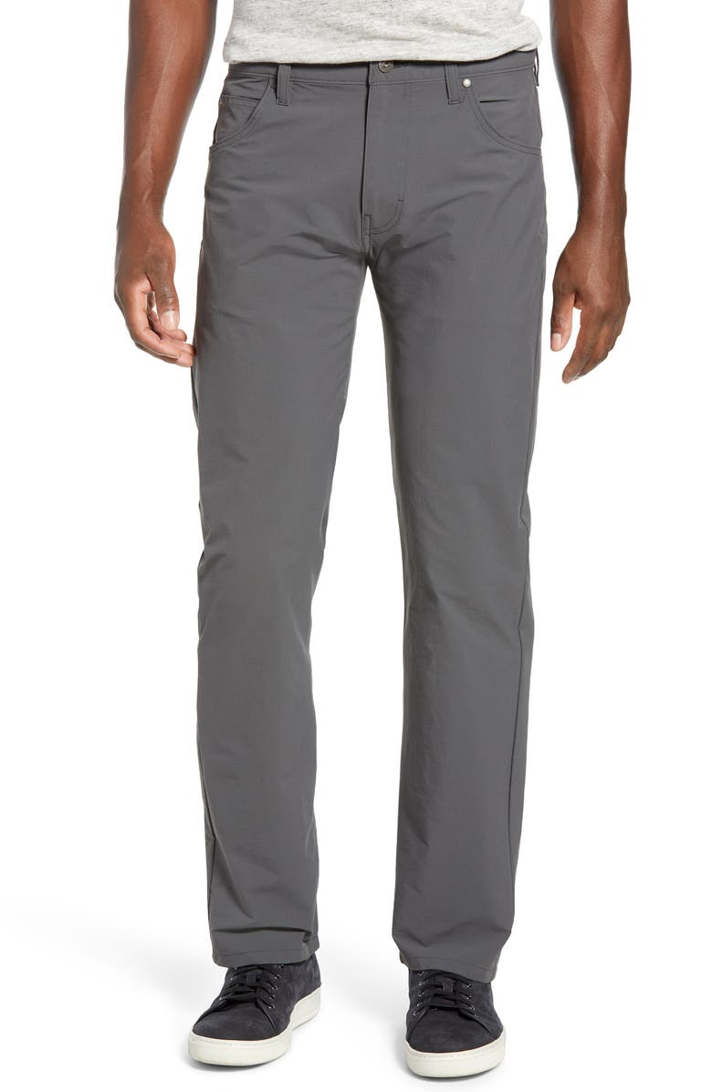 PATAGONIA Stonycraft Straight Leg Jeans, Main, color, FORGE GREY