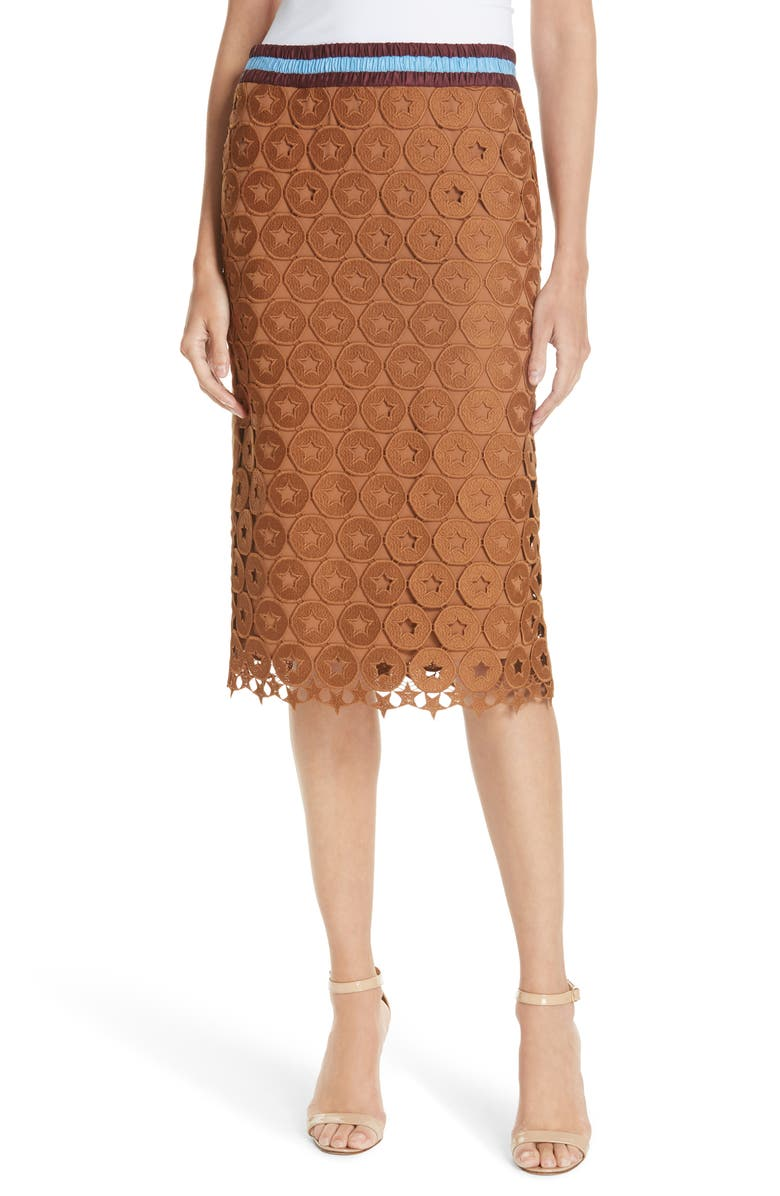 N°21 Lace Skirt, Main, color, 200