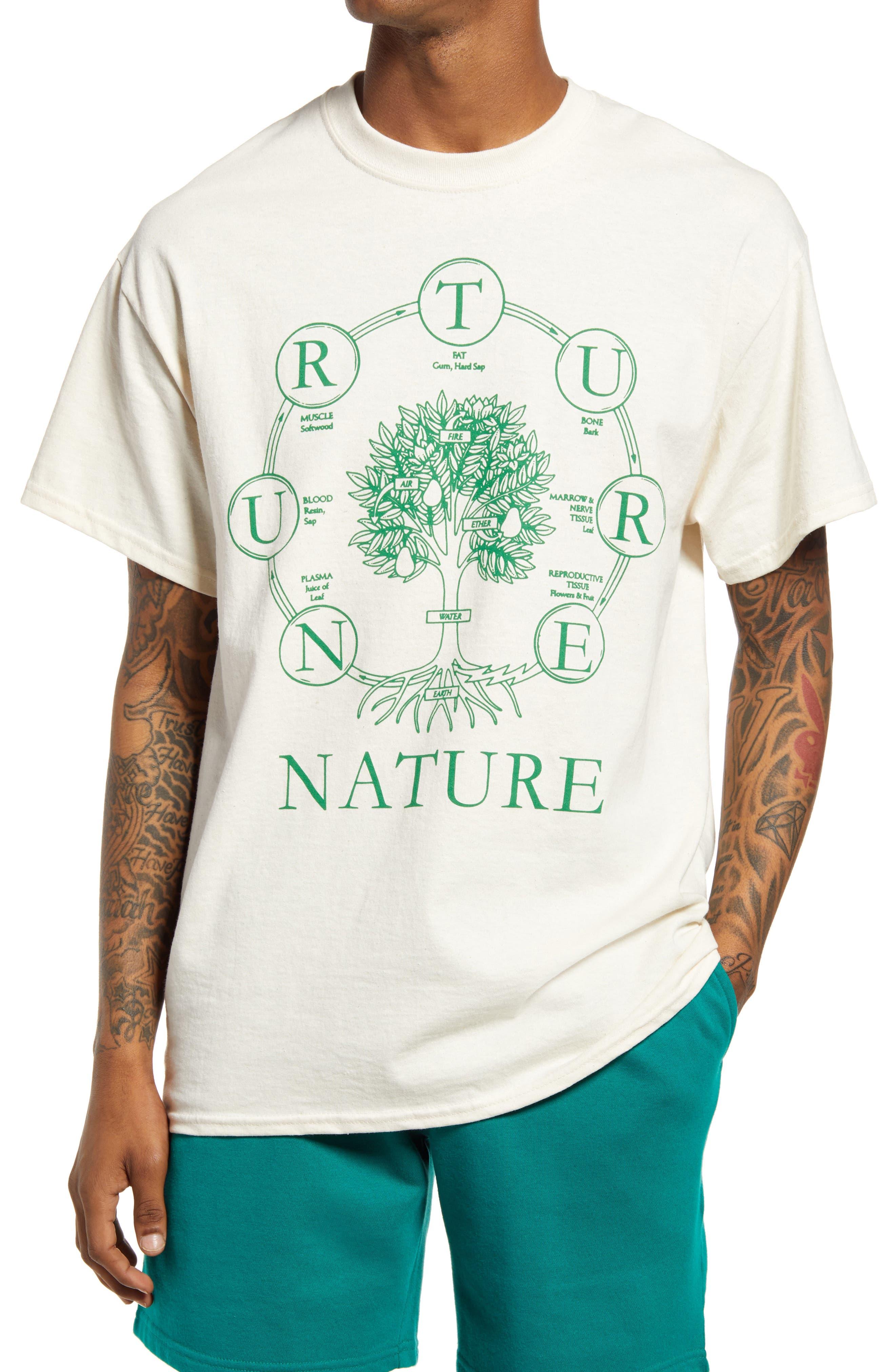 Men's Nurture Nature Graphic Tee