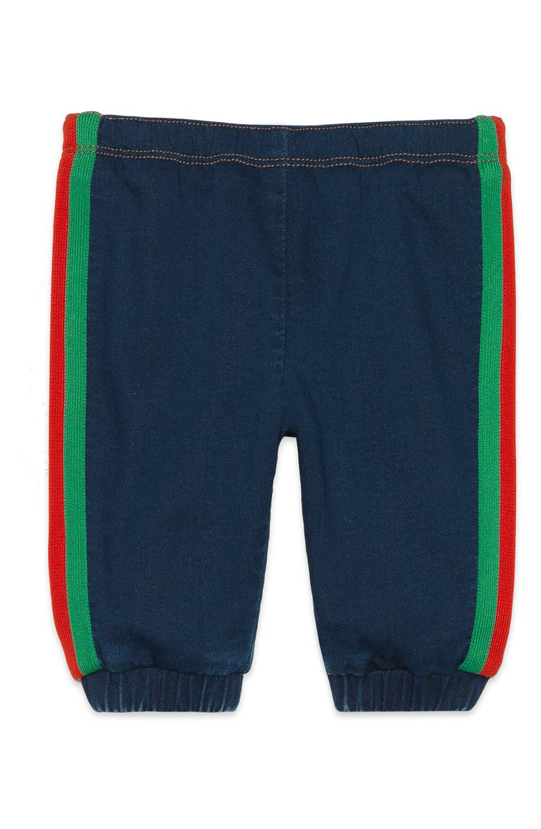 GUCCI Stripe Jogger Pants, Main, color, BLUE MULTI