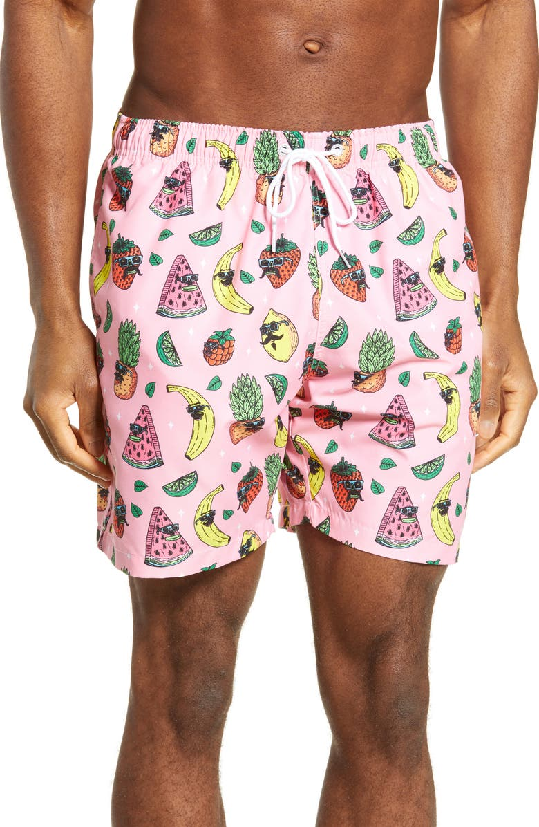 BOARDIES Mulga Fruity Swim Trunks, Main, color, 650