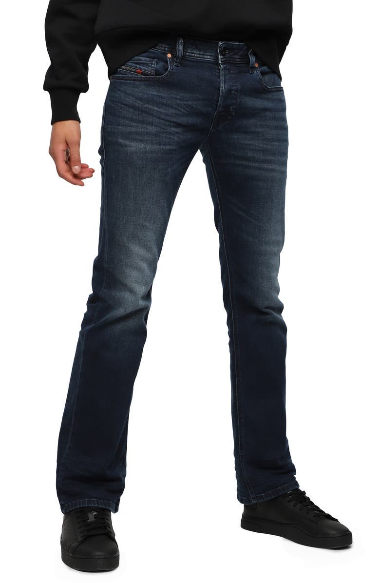 DIESEL<SUP>®</SUP> Zatiny Bootcut Jeans, Main, color, 087AS