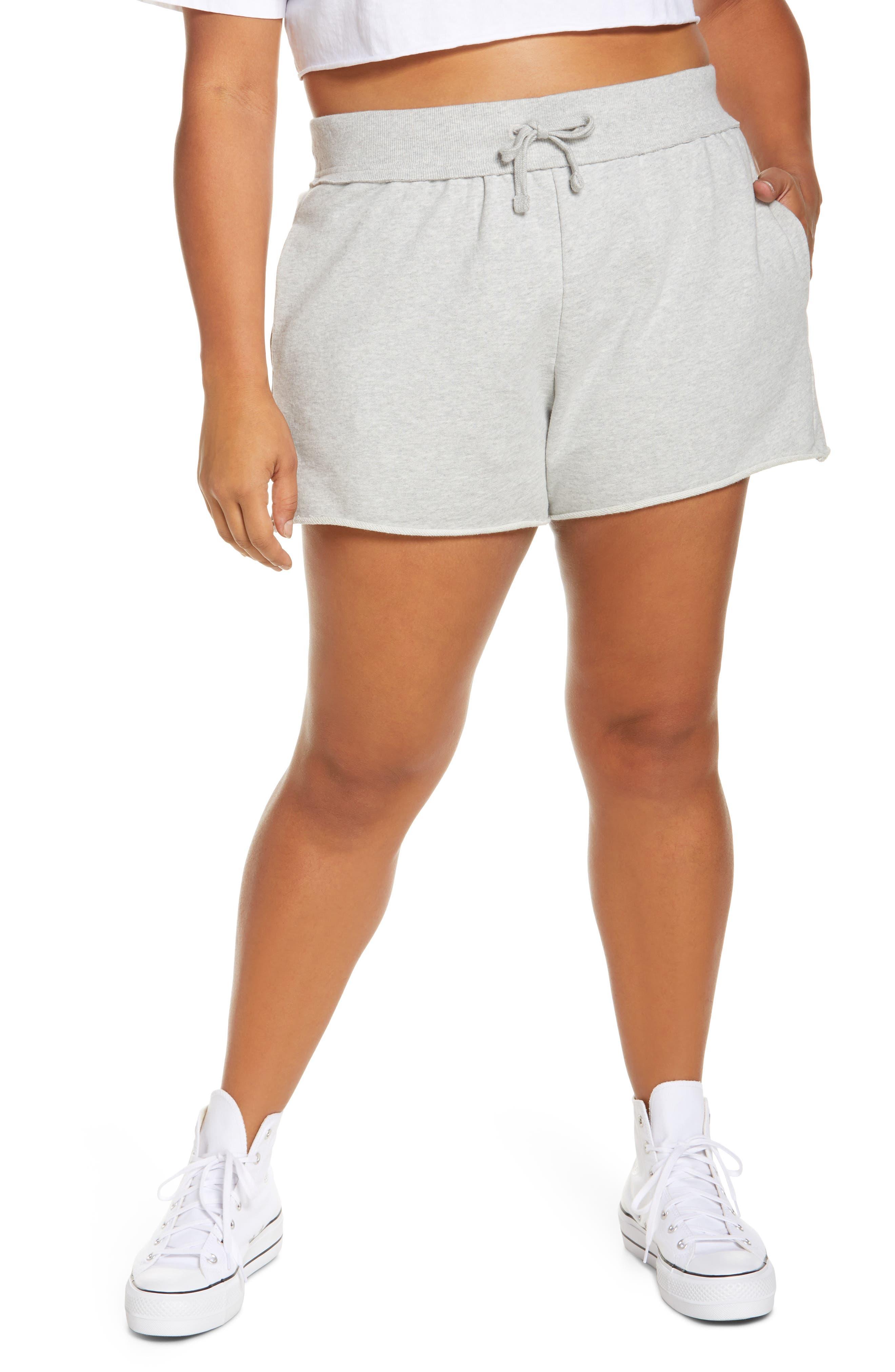 Plus Women's BP. French Terry Lounge Shorts