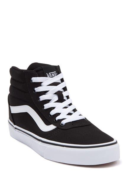 Image of VANS Ward High Top Canvas Sneaker