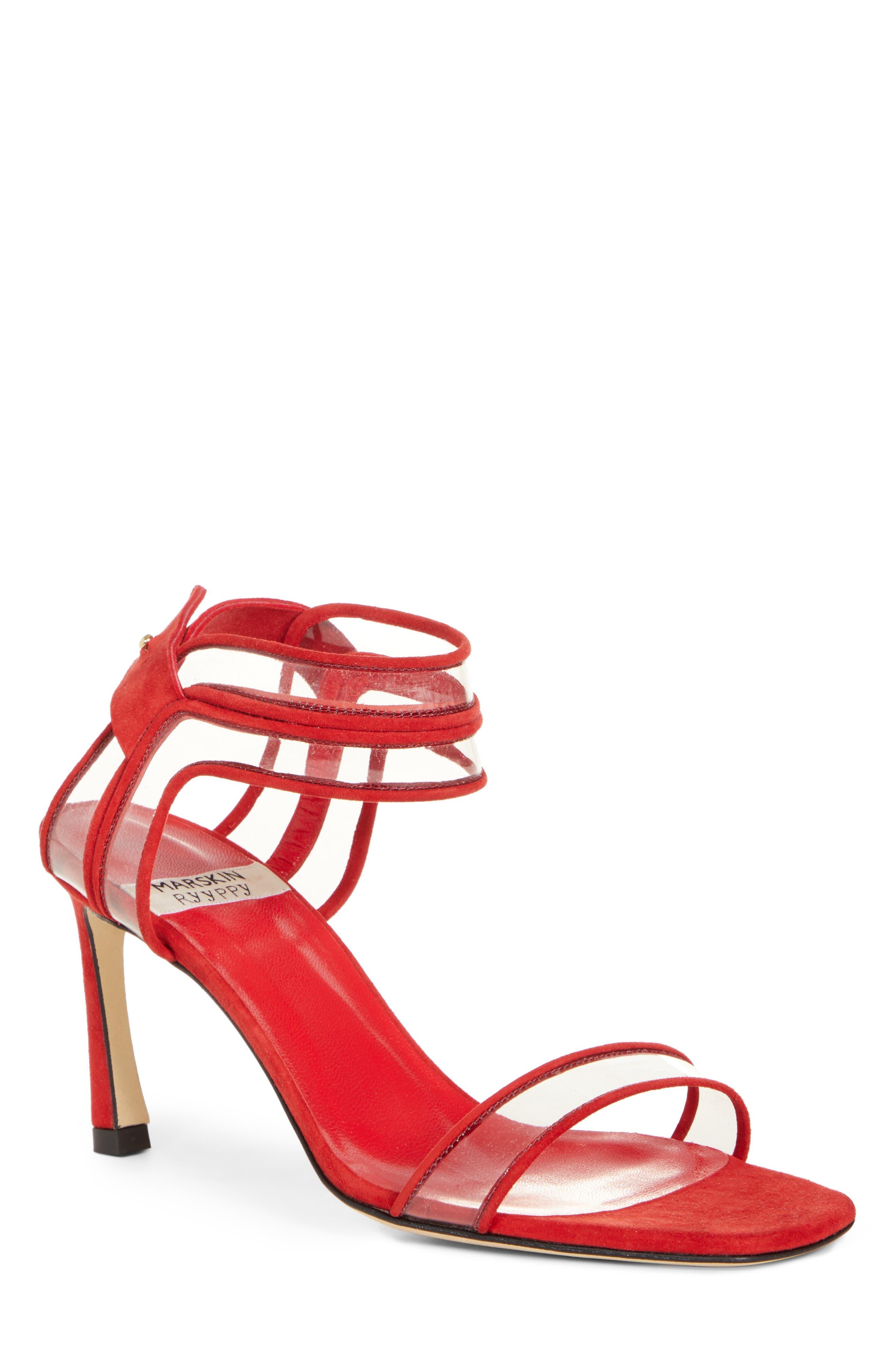 Winona Sandal, Main, color, IRON RED