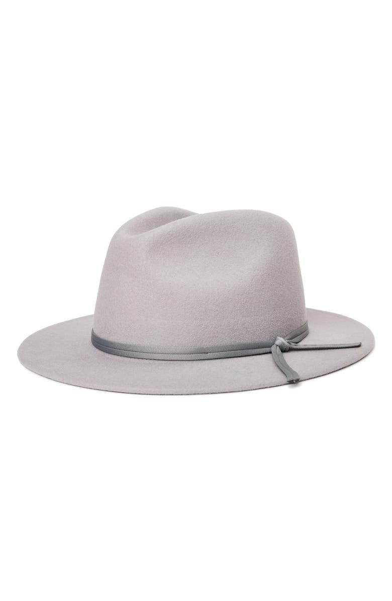 BRIXTON Coleman Wool Fedora, Main, color, 020