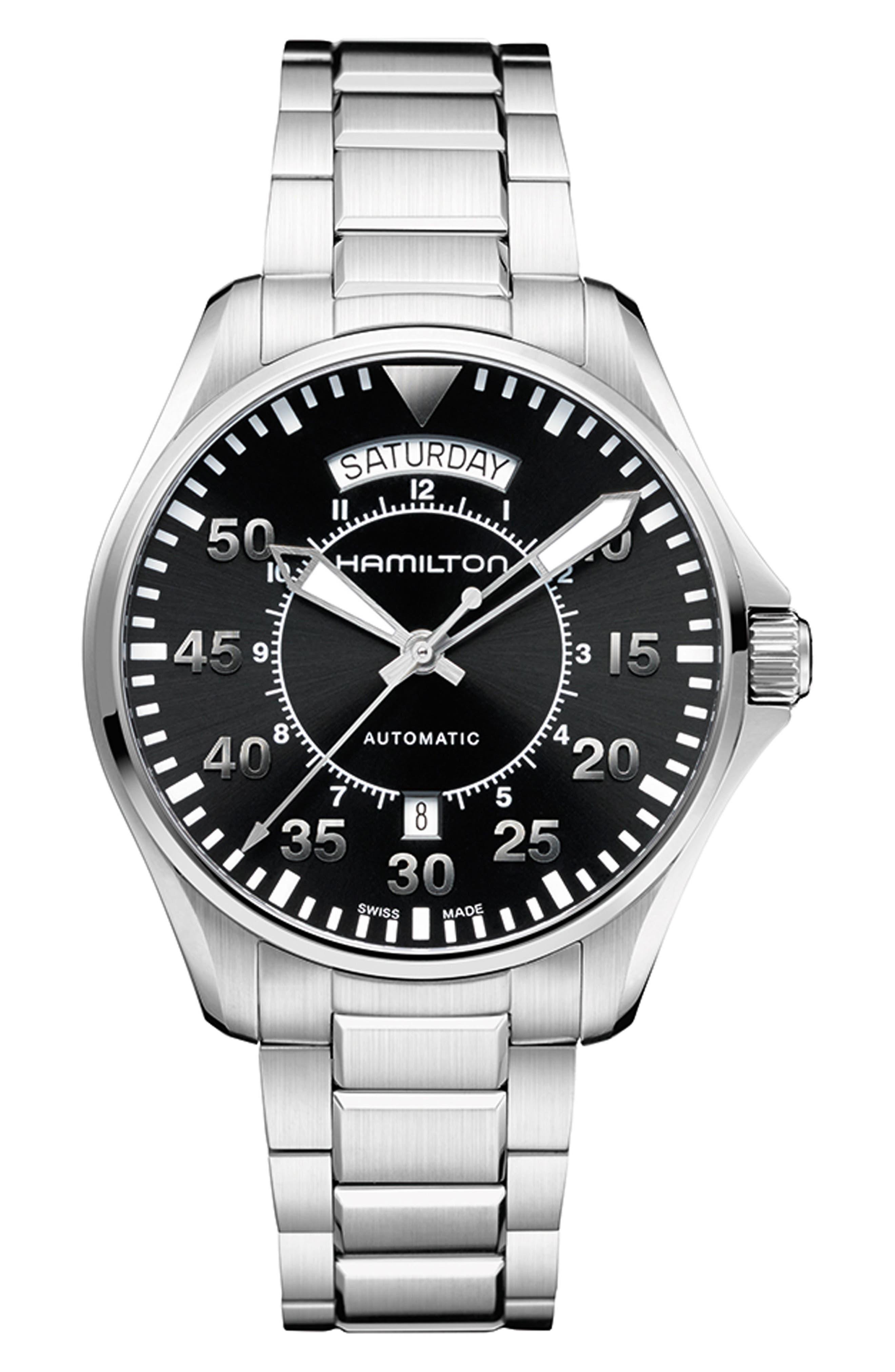 Khaki Aviation Automatic Bracelet Watch