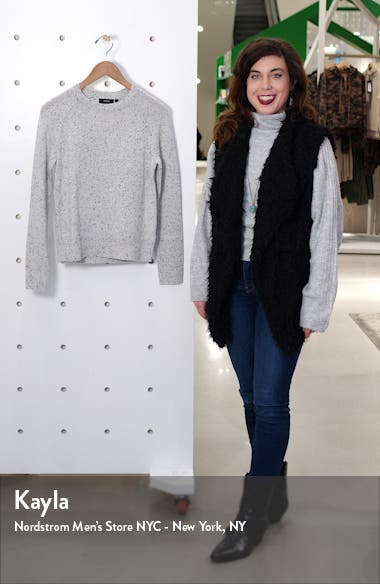 Donegal Easy Cashmere Crewneck Sweater, sales video thumbnail