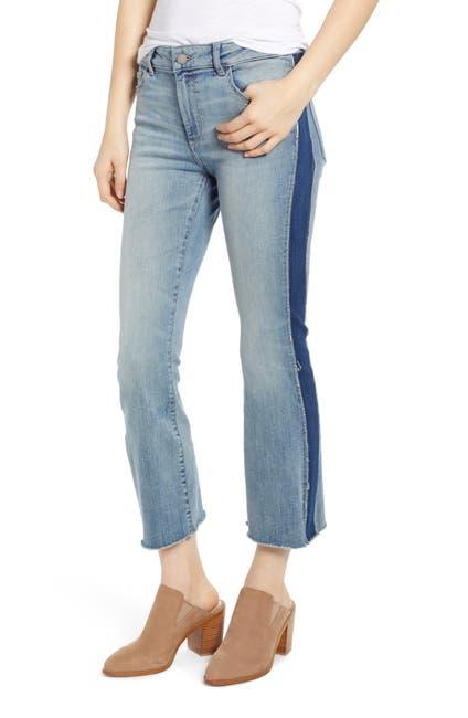 Image of DL1961 Bridget Crop Mid Rise Instasculpt Jeans