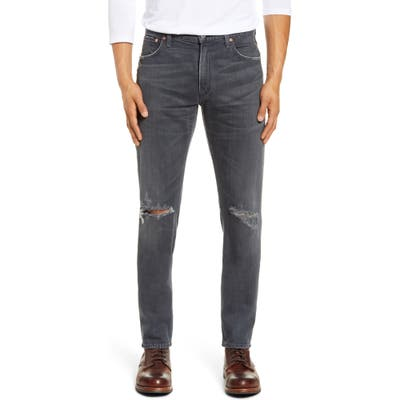 Citizens Of Humanity Bowery Slim Fit Ripped Jeans, Blue