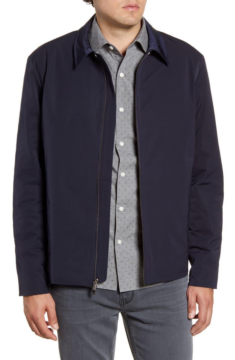 BONOBOS Insulated Nylon Jacket, Main, color, NAVY NYLON