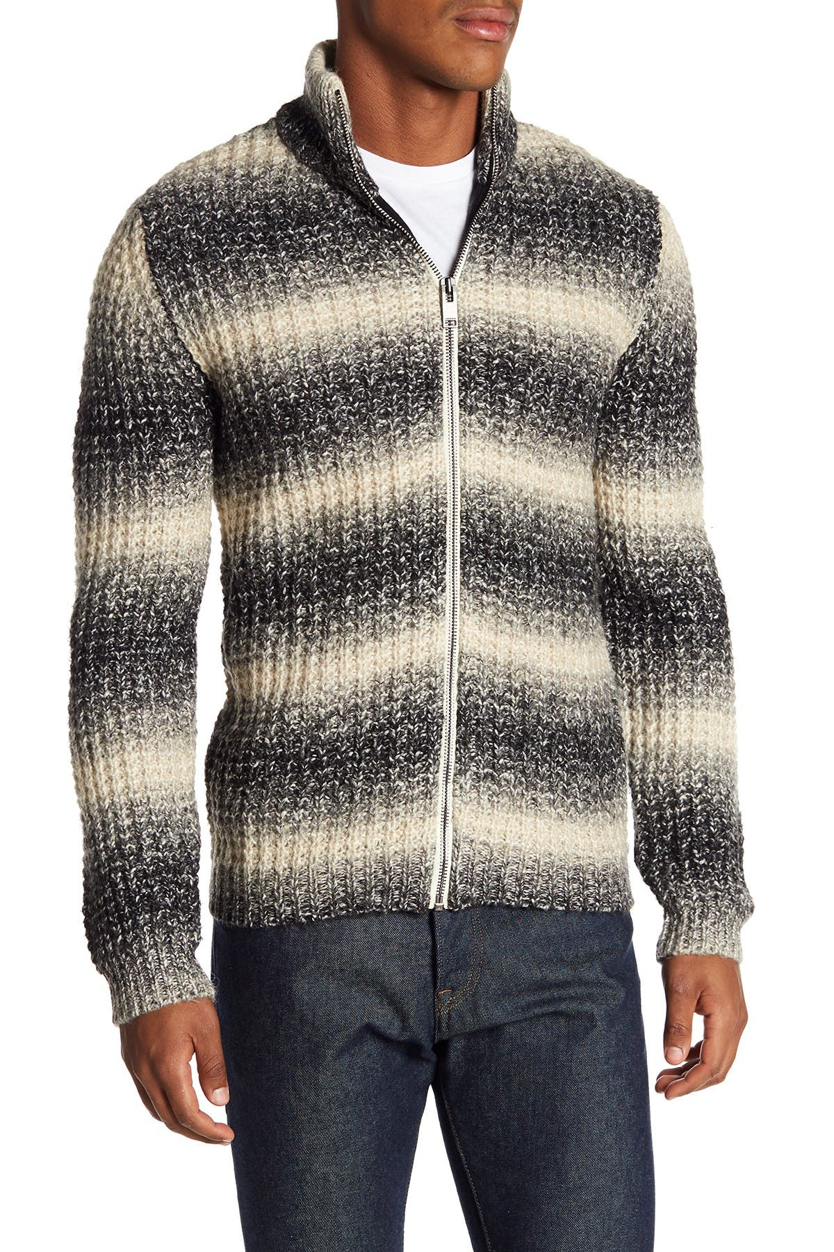 Image of Lindbergh Chunky Kit Zip Cardigan