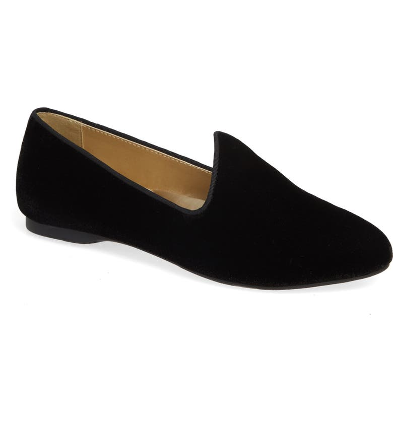 BIRDIES The Heron Loafer, Main, color, BLACK VELVET