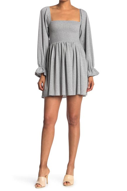 Image of Velvet Torch French Terry Smock Dress