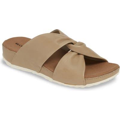 Romika Florenz 10 Slide Sandal, Beige