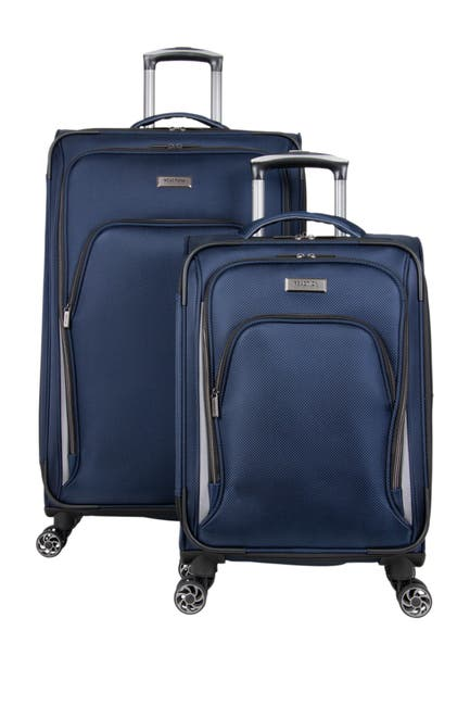 Image of Kenneth Cole Reaction Cloud City 2-Piece 8-Wheel Spinner Lightweight Luggage Set