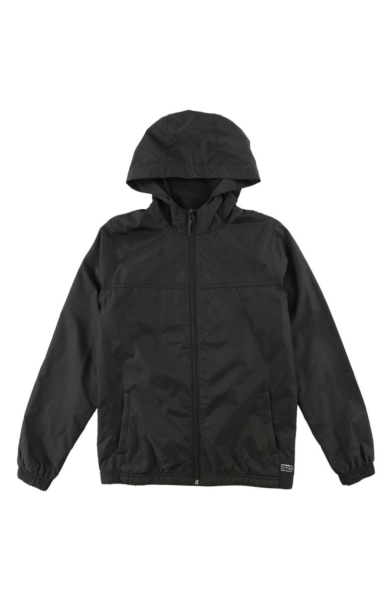 O'NEILL Del Ray Windbreaker, Main, color, BLACK