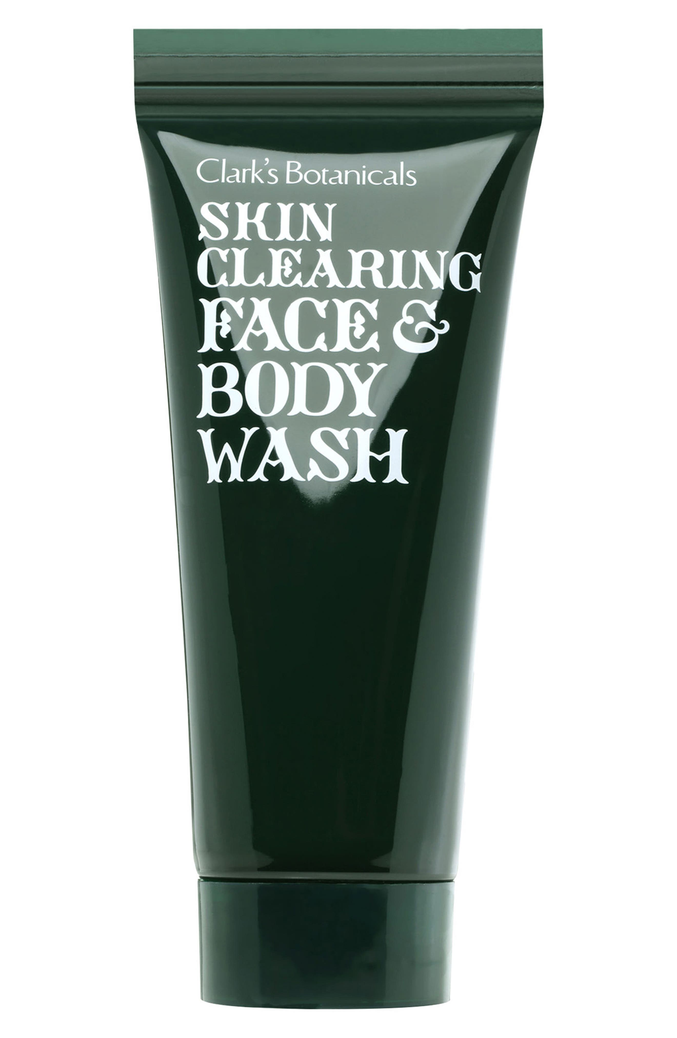 SPACE.NK.apothecary Clark's Botanicals Skin Clearing Face & Body Wash, Main, color, NO COLOR