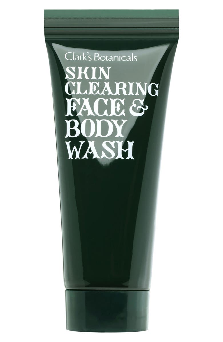 CLARK'S BOTANICALS Skin Clearing Face & Body Wash, Main, color, NO COLOR