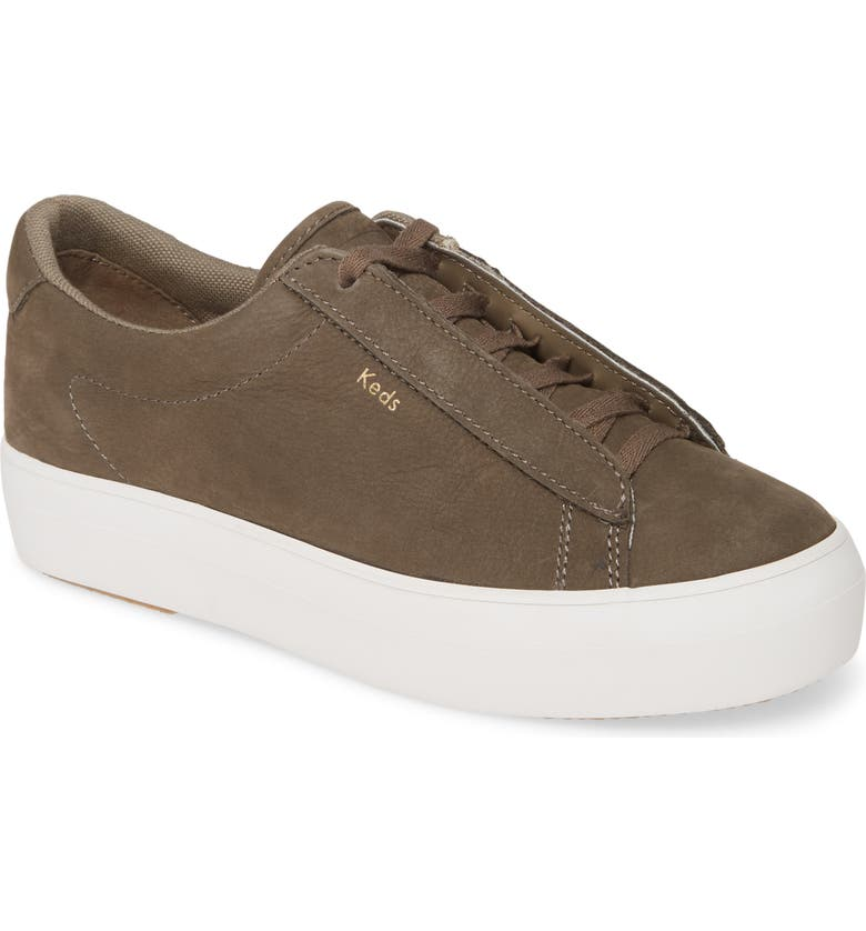KEDS<SUP>®</SUP> Rise Metro Nubuck Hidden Wedge Sneaker, Main, color, OLIVE