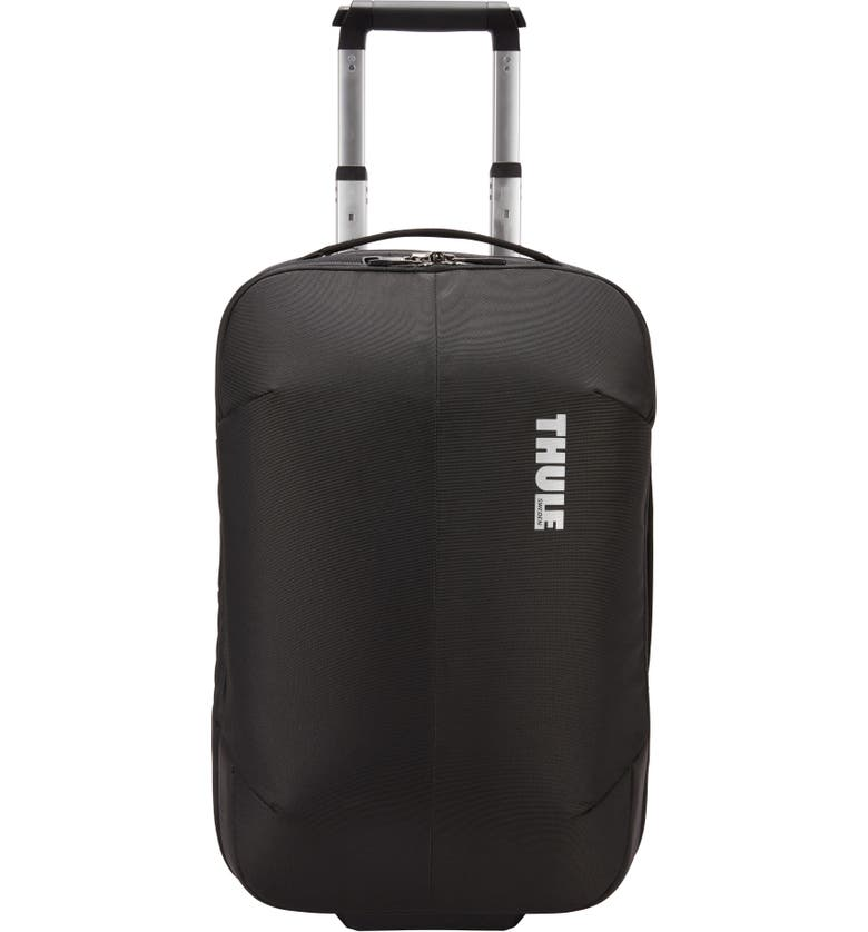 THULE Subterra 22-Inch Wheeled Carry-On, Main, color, BLACK