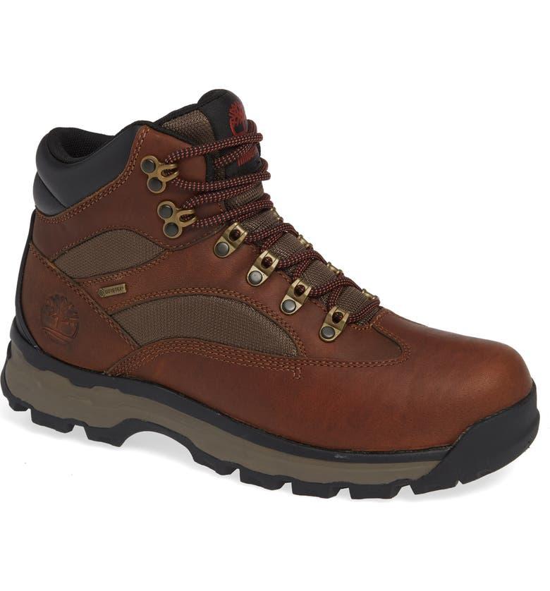 TIMBERLAND Chocorua Trail Gore-Tex<sup>®</sup> Waterproof Hiking Boot, Main, color, MEDIUM BROWN