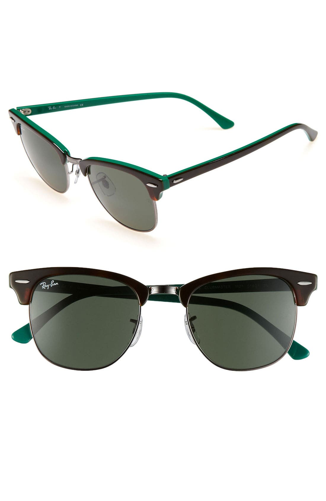 ,                             Classic Clubmaster 51mm Sunglasses,                             Main thumbnail 6, color,                             003