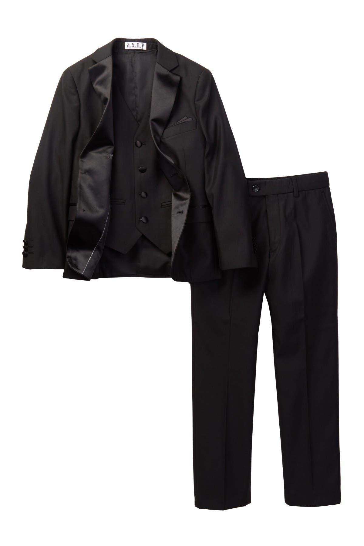 Image of Isaac Mizrahi 3 Piece Notch Lapel Tuxedo
