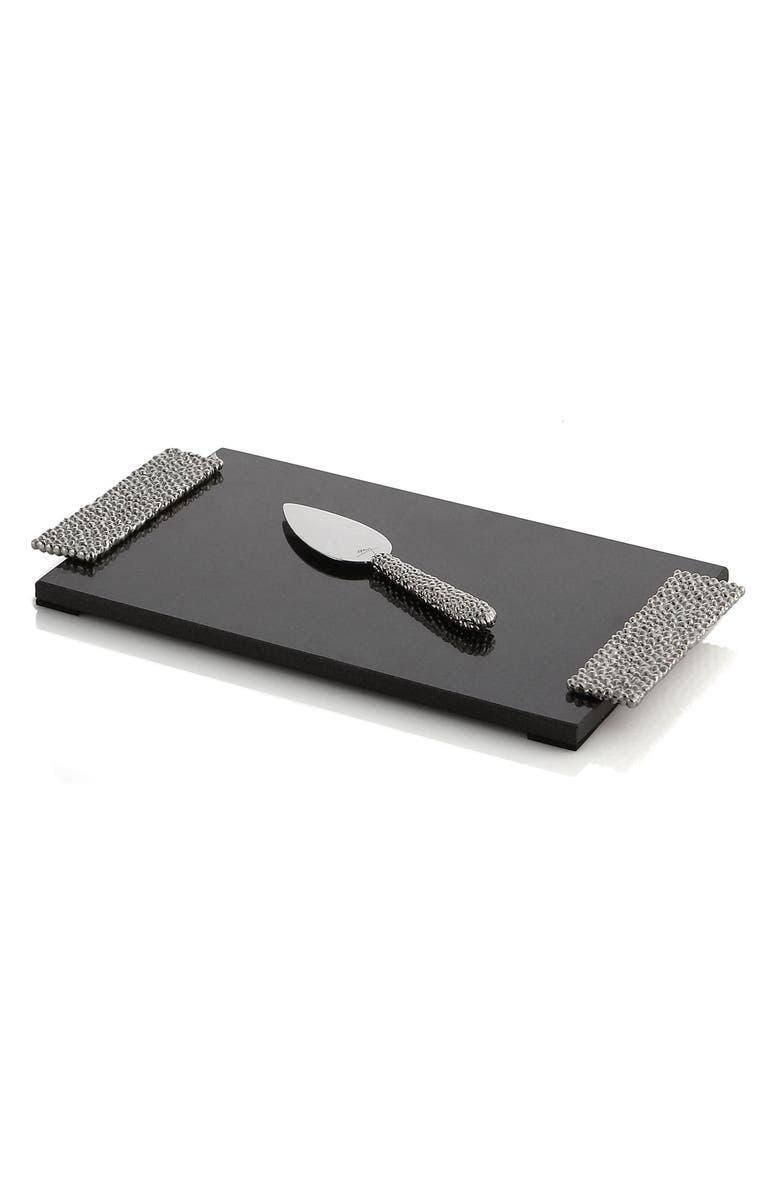 MICHAEL ARAM 'Molten' Cheeseboard & Knife, Main, color, 042