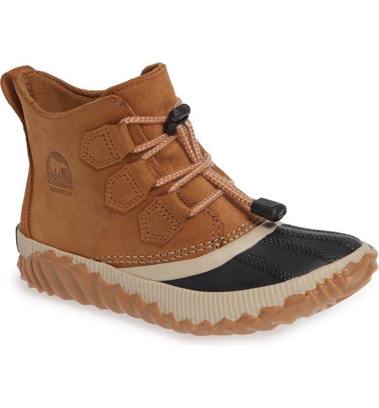 SOREL Out N About Plus Waterproof Boot, Main, color, ELK/ BLACK