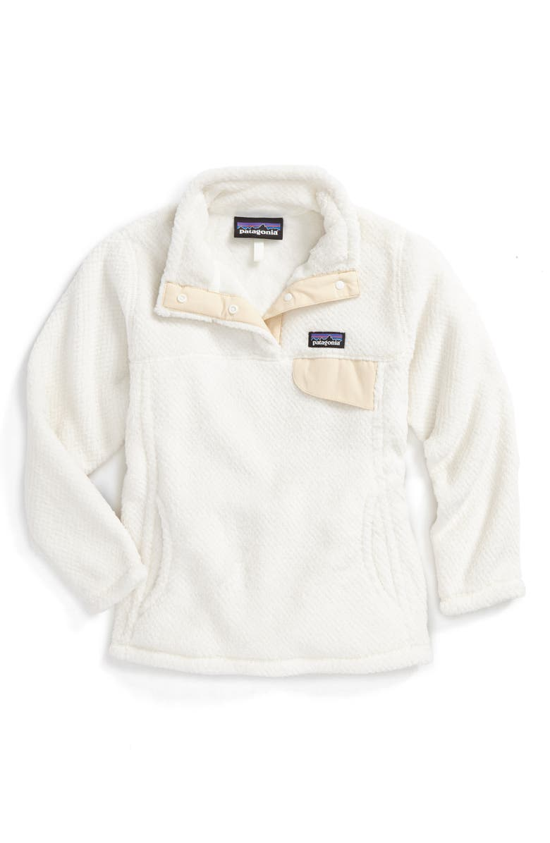 PATAGONIA Re-Tool Snap-T<sup>®</sup> Pullover, Main, color, RAW LINEN - WHITE X-DYE