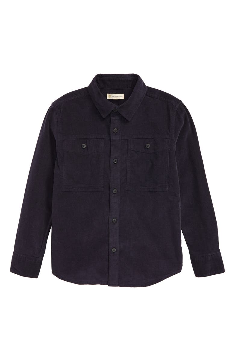 TUCKER + TATE Kings of the Cabin Corduroy Button-Up Shirt, Main, color, 401