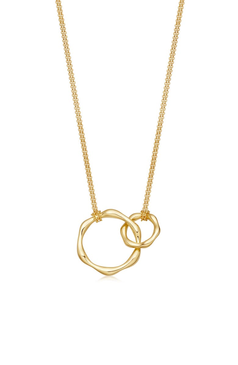 MISSOMA Double Molton Ring Pendant Necklace, Main, color, 710