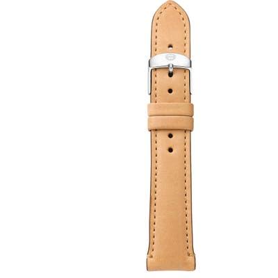 Michele 1m Leather Watch Strap