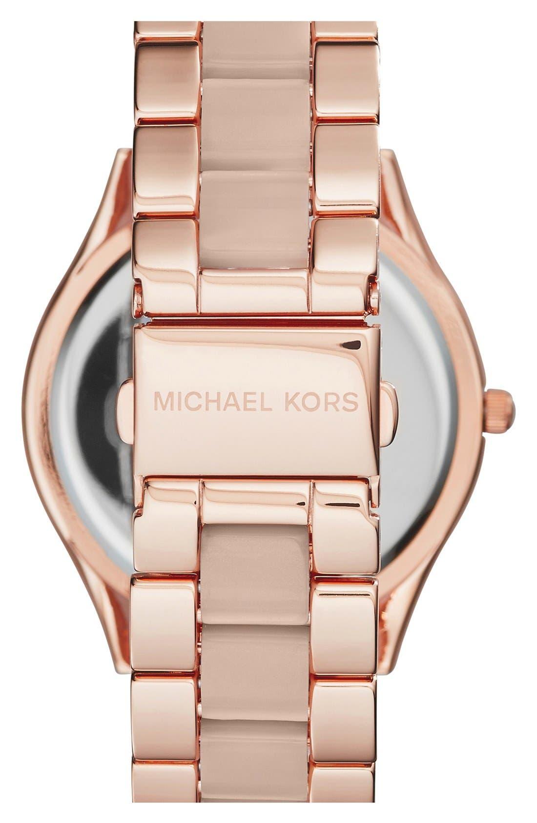 ,                             'Slim Runway' Bracelet Watch, 42mm,                             Alternate thumbnail 69, color,                             718