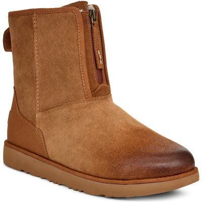 UGG Classic Short Waterproof Boot, Brown