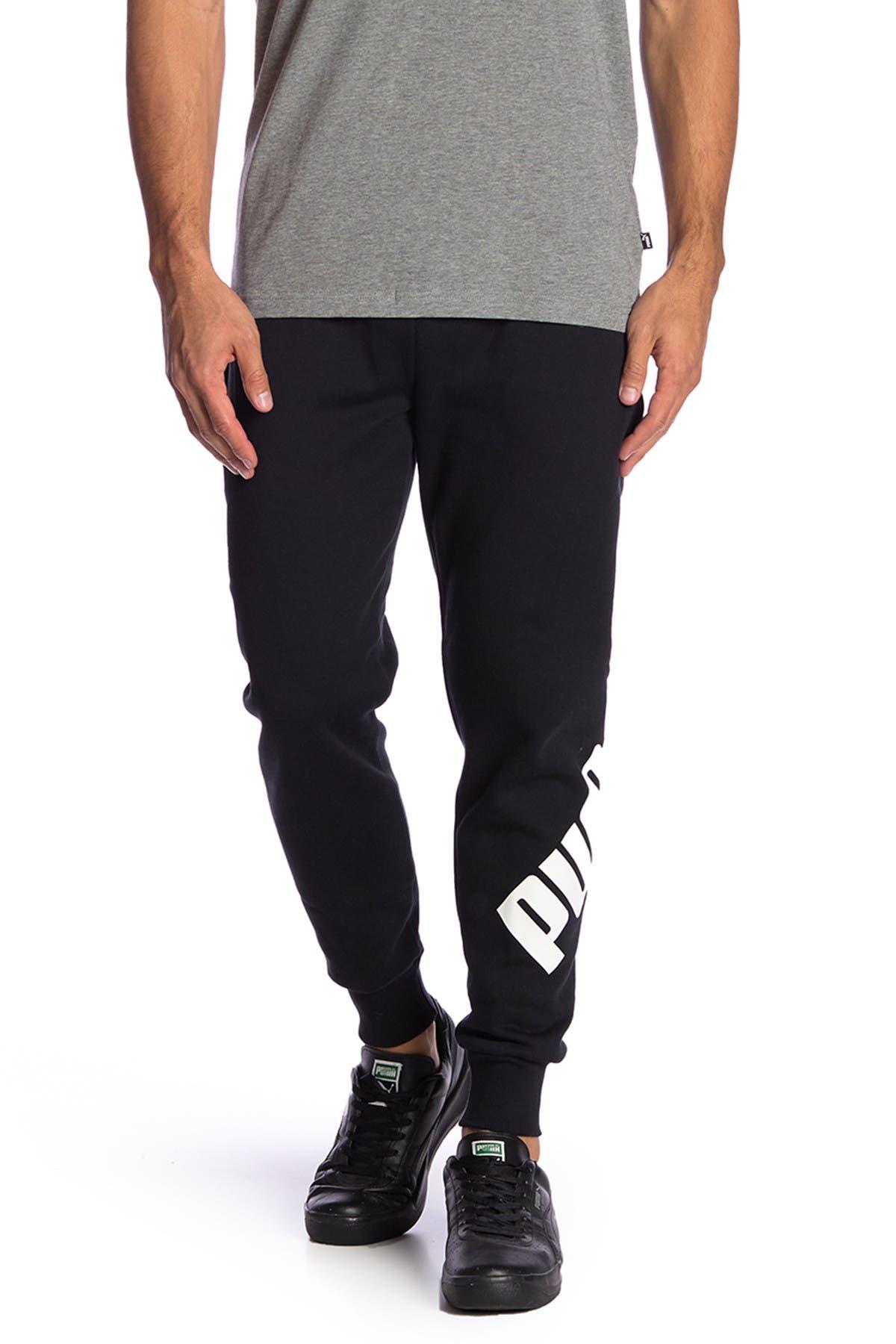 Image of PUMA Big Logo Fleece Lined Sweatpants