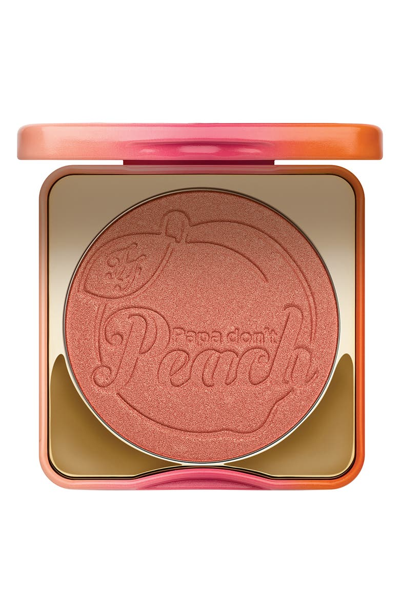 TOO FACED Papa Don't Peach Blush, Main, color, PEACH