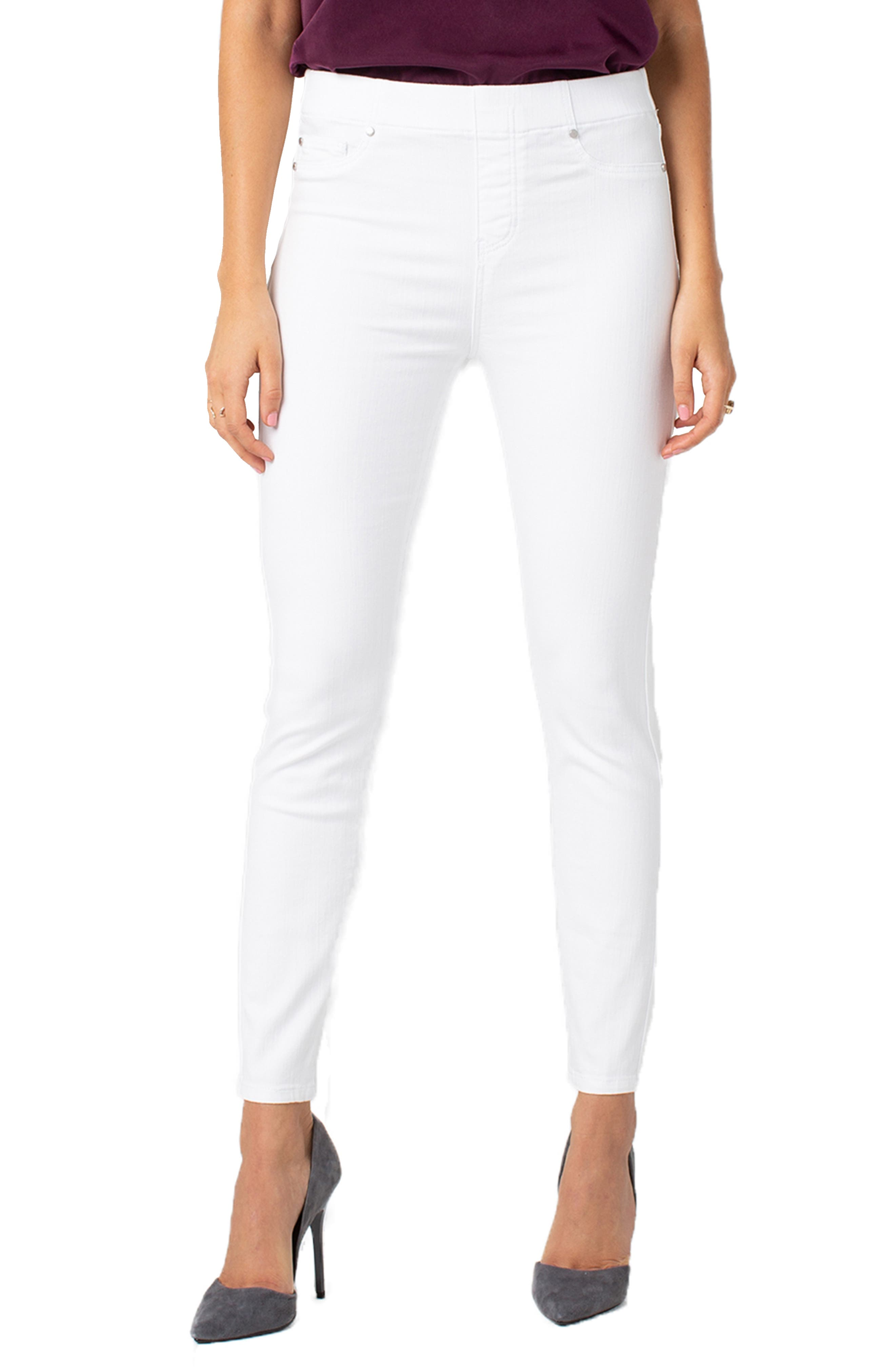 Women's Liverpool Chloe Pull-On Ankle Skinny Jeans