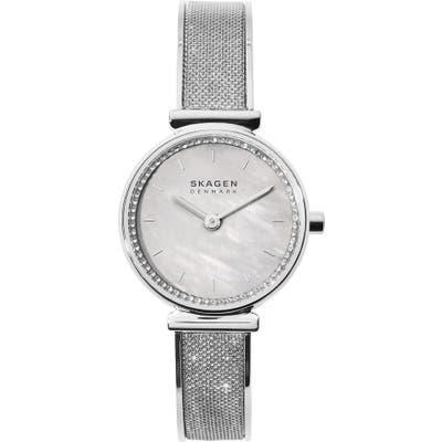 Skagen Annelie Leather Strap Watch, 25Mm