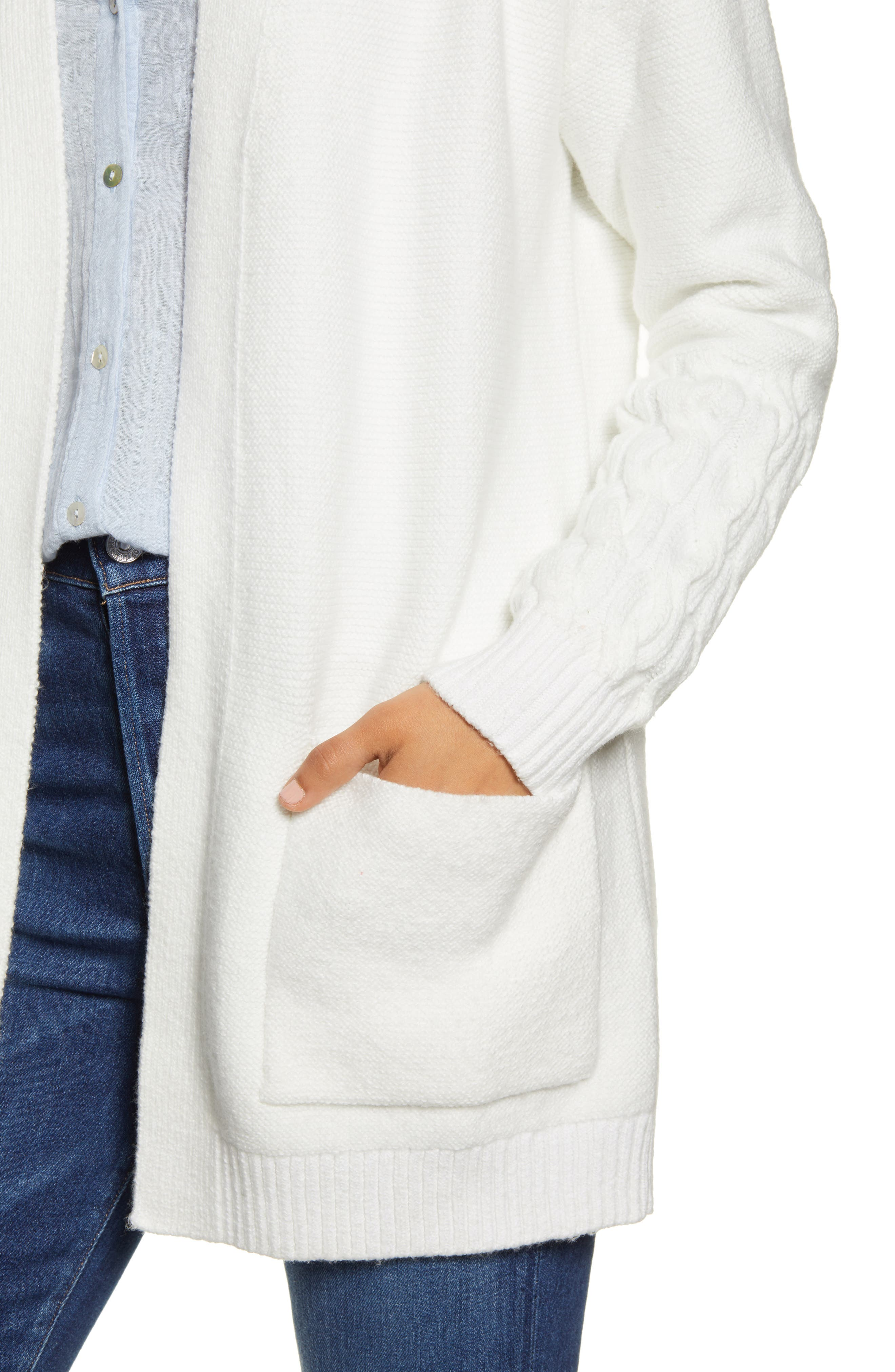Lucky Brand Tops Venice Cable Cardigan