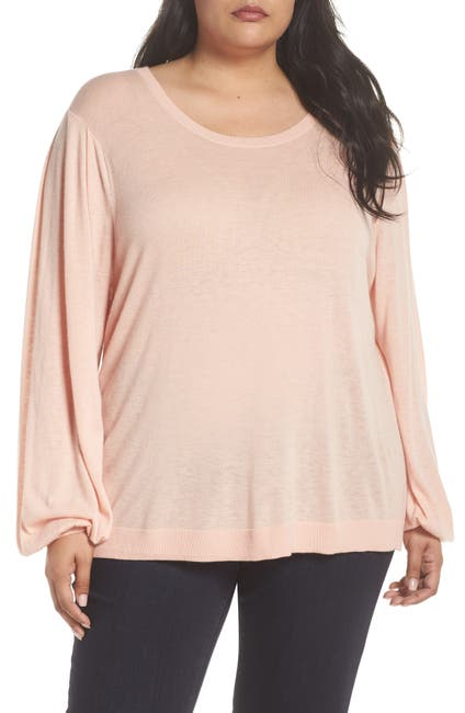 Image of Sejour Balloon Sleeve Pullover