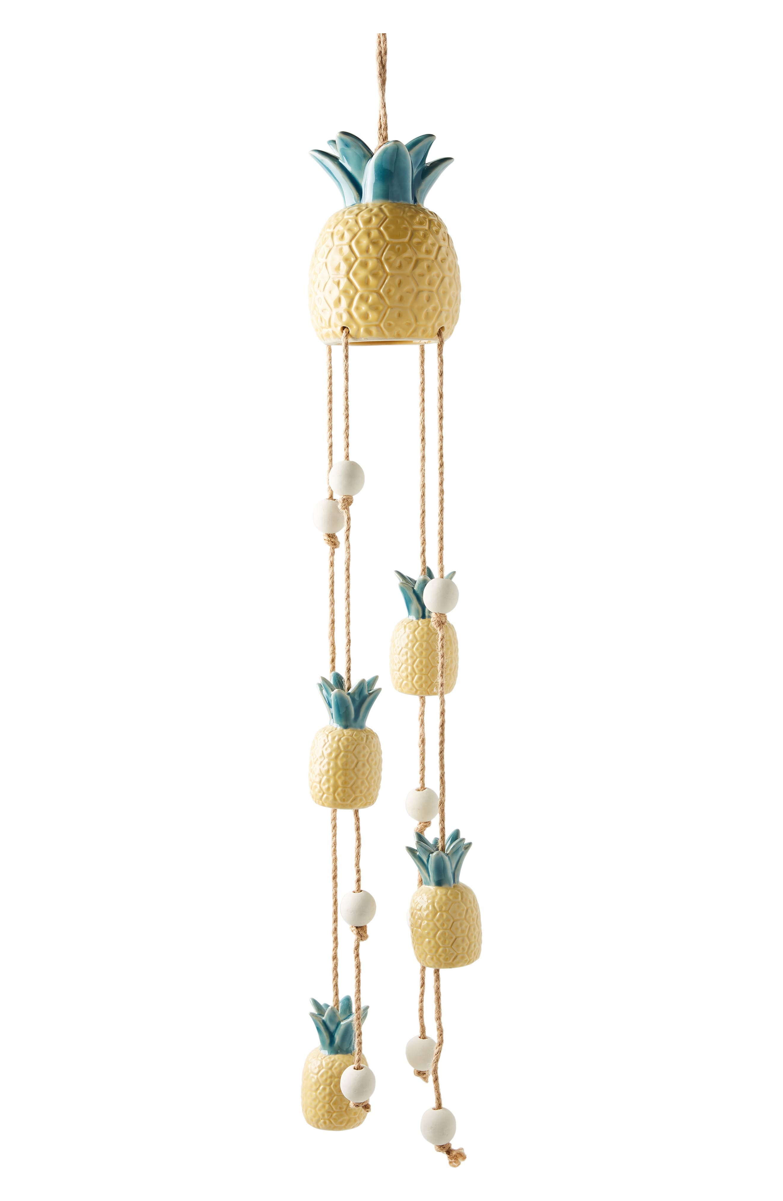,                             Pineapple Wind Chime,                             Alternate thumbnail 3, color,                             YELLOW